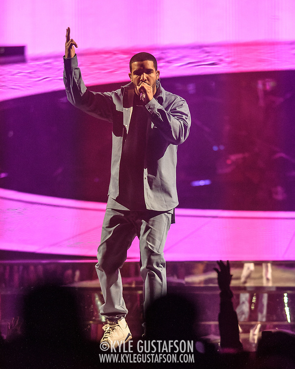 "WASHINGTON, DC - October 31st, 2013 -  Drake performs at the Verizon Center in Washington,D.C. as part of his ""Would You Like A Tour?"" tour. Drake's latest album, Nothing Was The Same, was released in September and debuted at at number one on the US Billboard 200 album chart.  (Photo by Kyle Gustafson / For The Washington Post)"