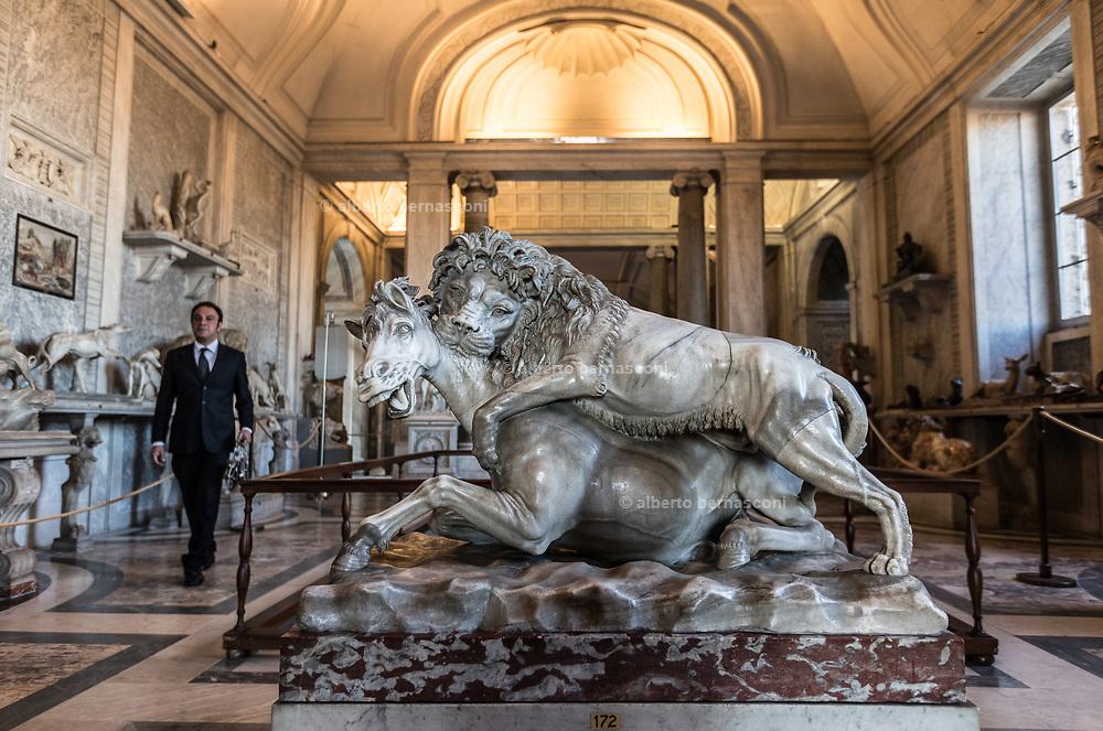 Rome, Vatican Museums, Galleria degli Animali
