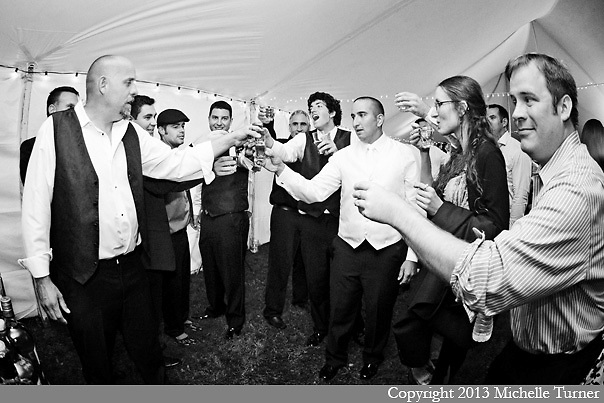 Coastal Maine Wedding and Coastal Maine Farm Wedding.  Images by Maine Wedding Photographer Michelle Turner.