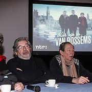 NLD/Utrecht/20150129 - Perspresentatie Hier zijn de Van Rossems, Vincent van Rossem, Sis van Rossem, Maarten van Rossem