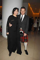 SHARLEEN SPITERI and EWAN MCGREGOR at 'Not Another Burns Night' in association with CLIC Sargebt and Children's Hospice Association Scotland held at ST.Martins Lane Hotel, London on 3rd March 2008.<br />
