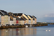 Houses are seen along the River Corrib in Galway, County Galway, Ireland on Monday, June 24th 2013. (Photo by Brian Garfinkel)