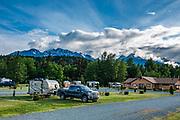 Haines Hitch-up RV Park, Alaska, USA