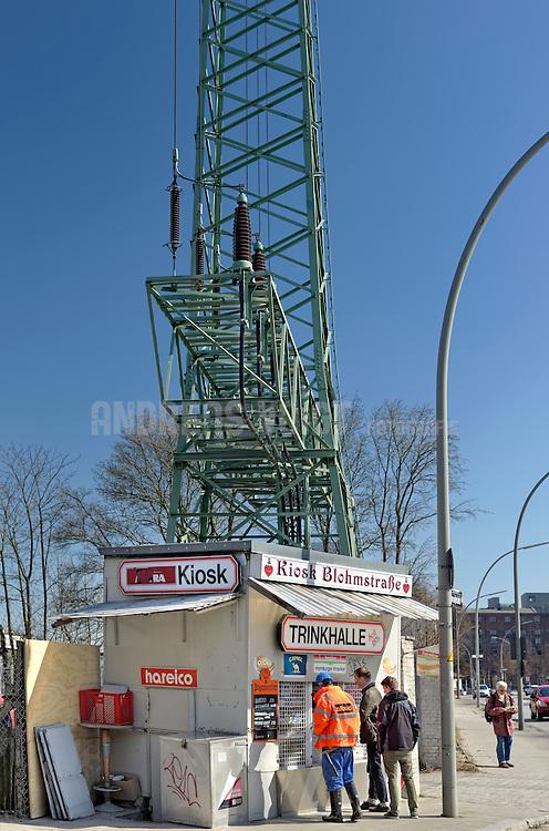 Trinkhalle Kiosk Blohmstraße in Harburg