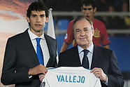 Real Madrid Unveil New Signing Jesus Vallejo - 7 July 2017