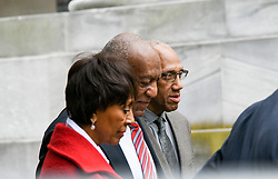 June 7, 2017 - Norristown, Pennsylvania, U.S - BILL COSBY, actress SHEILA FRAZER ATCHISON and her husband JOHN arrive for day three of Bill Cosby's sexual assault trial. Frazier appeared with Cosby in the movie California Suite and in court to support Cosby. (Credit Image: © Ricky Fitchett via ZUMA Wire)