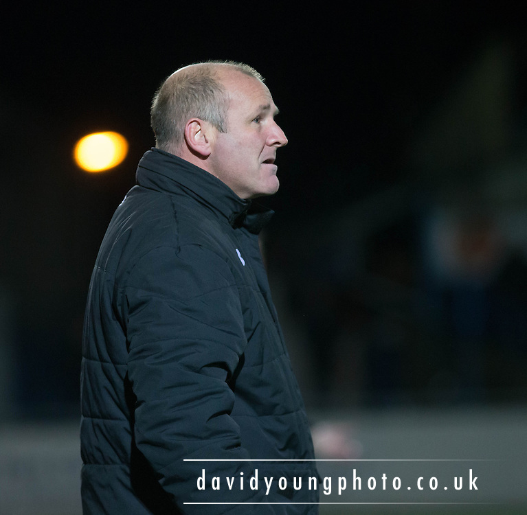Gus McPherson - Montrose v Queens Park - SPFL Division 2 at Links Park<br /> <br />  - &copy; David Young - www.davidyoungphoto.co.uk - email: davidyoungphoto@gmail.com