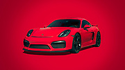 A beautiful Porsche Cayman GT4 at Cars & Coffee in West Palm Beach, Florida. Photography by Jeffrey A McDonald