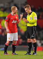 20120131: MANCHESTER, UK - Barclays Premier League 2011/2012: Manchester United vs Stoke City.<br />
