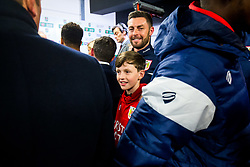 Bristol City Assistant Head Coach Jamie McAllister looks on in the tunnel after Korey Smith of Bristol City scores a goal in the 93rd minute to make it 2-1 and win the match for his side - Rogan/JMP - 20/12/2017 - Ashton Gate Stadium - Bristol, England - Bristol City v Manchester United - Carabao Cup Quarter Final.