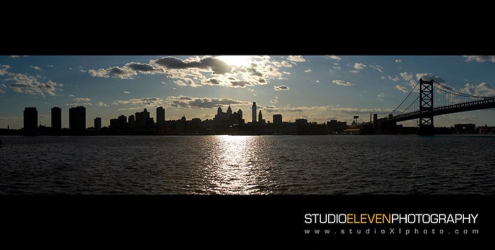 Philadelphia, April 2010.  Photo taken from Camden side of the Delaware River.