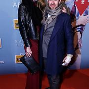 NLD/Amsterdam/20150119 - Premiere film Homies, Selwyn Senatori en partner