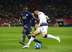 November 6, 2018 - London, England, United Kingdom - London, England - November 06, 2018.Tottenham Hotspur's Son Heung-Min.during Champion League Group B between Tottenham Hotspur and PSV Eindhoven at Wembley stadium , London, England on 06 Nov 2018. (Credit Image: © Action Foto Sport/NurPhoto via ZUMA Press)