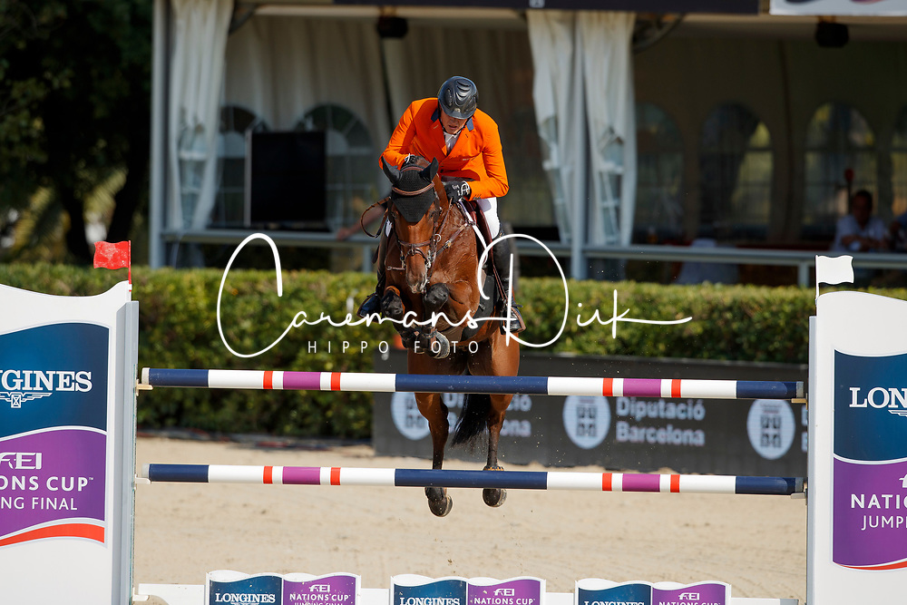 Houtzager Marc, NED, Sterrehofs Calimero<br /> CSIO Barcelona 2017<br /> © Hippo Foto - Dirk Caremans<br /> 28/09/2017
