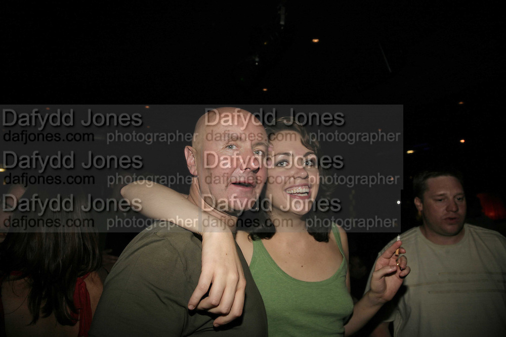 BETH QUINN ( MRS. WELSH) AND IRVINE WELSH, The Bedroom Secrets of the Master Chefs by Irvine Welsh. the Play Room, 10 Air St. London. 3 August 2006. ONE TIME USE ONLY - DO NOT ARCHIVE  © Copyright Photograph by Dafydd Jones 66 Stockwell Park Rd. London SW9 0DA Tel 020 7733 0108 www.dafjones.com