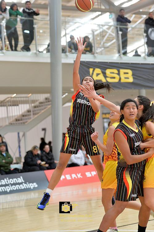 2013 U15 National Championship Basketball Tournament at ASB Sports Centre, Kilbirnie, Wellington, New Zealand on Saturday 27 July 2013. <br /> Photo by Masanori Udagawa. <br /> www.photowellington.photoshelter.com