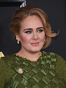 February 12, 2017 , Los Angeles, USA. 59EME GRAMMY AWARDS 2017, Adele @ the 59th Annual GRAMMY Awards held @ the Microsoft Theatre. <br /> ©Exclusivepix Media