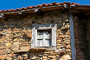 Old window in Somaniezo, Cantabria, Northern Spain