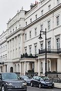 London, England, UK, February 5 2018 - 5 Belgrave Square is the home of Russian billionaire Oleg Deripaska.