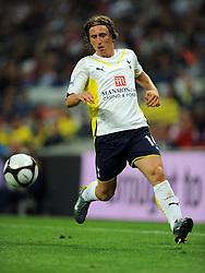 Luka Modric.Tottenham Hotspur 2009/10.Tottenham Hotspur V FC Barcelona 24/07/09.The Wembley Cup at Wembley Stadium.