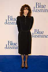 Blue Jasmine - UK film premiere. <br /> Sally Hawkins arrives for the Blue Jasmine film premiere, Odeon, London, United Kingdom. Tuesday, 17th September 2013. Picture by Chris Joseph / i-Images