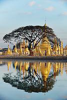 Myanmar (ex Birmanie), Province de Shan, Pindaya, monastere Kan Tau // Myanmar (Burma), Shan province, Pindaya, Kan Tau monastery