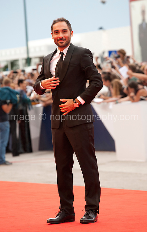 Director Piero Messina at the gala screening for the film L'attesa at the 72nd Venice Film Festival, Saturday September 5th 2015, Venice Lido, Italy.