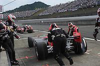 Helio Castroneves, Japan Indy 300, Twin Ring Motegi, Motegi, Tochigi Japan, 9/19/2010