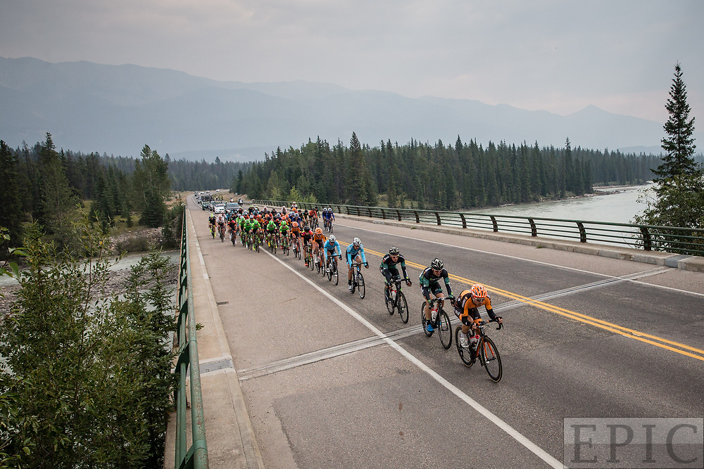 JASPER, ALBERTA, CAN - September 1: Tour of Alberta stage 1 on September 1, 2017 in Jasper, Canada. (Photo by Jonathan Devich)