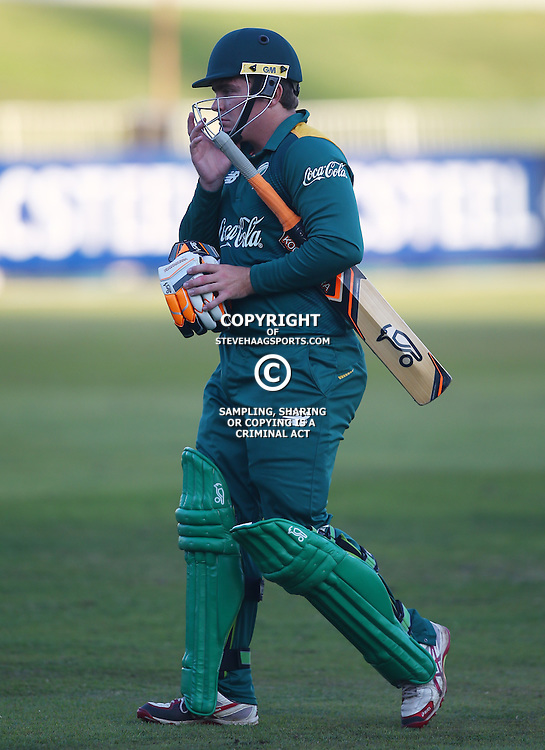 DURBAN, SOUTH AFRICA ,Sunday 19th July, Sean Whitehead of SA u19s during the  South African under 19s vs the Bangladesh under 19s Cricket Series the last ODI match at Sahara Stadium Kingsmead Sunday 19th July Durban (Photo by Steve Haag)