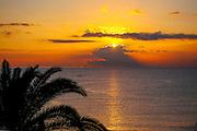 Taormina, Sicily Sunrise over the Mediterranean Sea