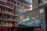 Old Lord Nelson pub building and construction of new flats (apartments) in London borough of Southwark.