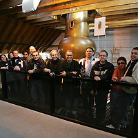 Brazilian Journalists visit to The Famous Grouse Experience.<br />