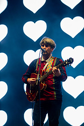 DOHA, QATAR - Thursday, December 19, 2019: Timo Tierney of The Tea Street Band performs at the official Fan Zone at the Doha Golf Club during the FIFA Club World Cup Qatar 2019. (Pic by David Rawcliffe/Propaganda)