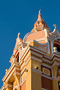 The Cathedral of Cartagena, Towerbell (1577), Cartagena de Indias, Bolivar Department,, Colombia, South America. 2008