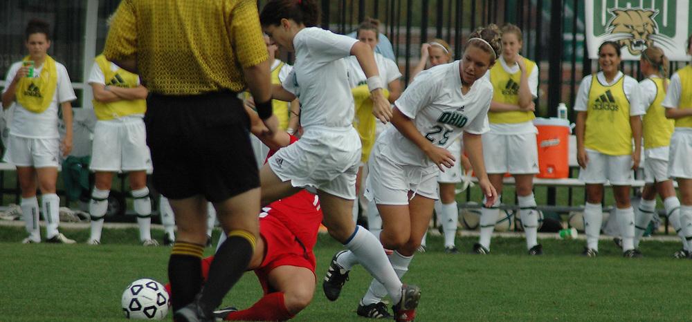 17165OU Women's Soccer Vs. Ball State: .                      Photos By Mykal McEldowney