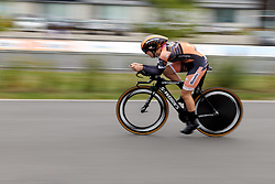 Jip van den Bos (NED) at Boels Ladies Tour 2019 - Prologue, a 3.8 km individual time trial at Tom Dumoulin Bike Park, Sittard - Geleen, Netherlands on September 3, 2019. Photo by Sean Robinson/velofocus.com
