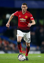 Manchester United's Nemanja Matic during the FA Cup fifth round match at Stamford Bridge, London.