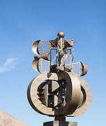 César Manrique sculpture at the airport, Lanzarote, Canary Islands, Spain