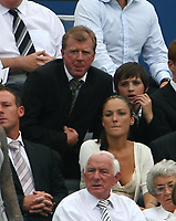 Photo: Andrew Unwin.<br /> Newcastle United v Villarreal. Pre Season Friendly. 05/08/2006.<br /> England's manager, Steve McLaren, takes his seat for the second half.
