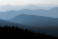 I took this picture on the Mt Evans road on a very hazy day because of nearby wildfires.<br />