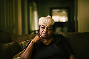 "LOWNDES COUNTY, AL – JULY 10, 2017: Ruby Dee Rudolph, 66, noticed her septic tank was slowly sinking unevenly into the ground, and has endured several instances of sewage backing up into her house through the toilet and bathtub, which is a common problem in her neighborhood. ""Late at night, you can smell it,"" Rudolph said. ""I would have thought by now these systems would have been fixed, but they're not.""<br /> <br /> A recent study conducted by Baylor University suggests that nearly one 1 in 3 people in Lowndes County have hookworm, a parasite normally found in poor, developing countries. Below ground septic tanks are common in Lowndes, but due to the chalky clay soil throughout much of the Black Belt, septic tanks are prone to backing up into people's homes during heavy rains. With failing or absent municipal sewage systems in the county, many families choose to live with open, above ground sewer systems made from PVC pipe, which pump raw sewage into nearby streams or open land."