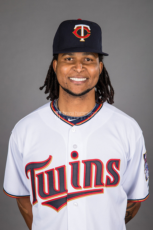 MINNEAPOLIS, MN- DECEMBER 12: Ervin Santana #54 of the Minnesota Twins poses for a photo on December 12, 2014 at Target Field in Minneapolis, Minnesota. (Photo by Brace Hemmelgarn) *** Local Caption *** Ervin Santana