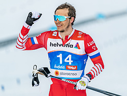 21.02.2019, Langlauf Arena, Seefeld, AUT, FIS Weltmeisterschaften Ski Nordisch, Seefeld 2019, Langlauf, Herren, Sprint, im Bild Gleb Retivykh (RUS) // Gleb Retivykh of Russian Federation during the men's Sprint competition of the FIS Nordic Ski World Championships 2019. Langlauf Arena in Seefeld, Austria on 2019/02/21. EXPA Pictures © 2019, PhotoCredit: EXPA/ Stefan Adelsberger