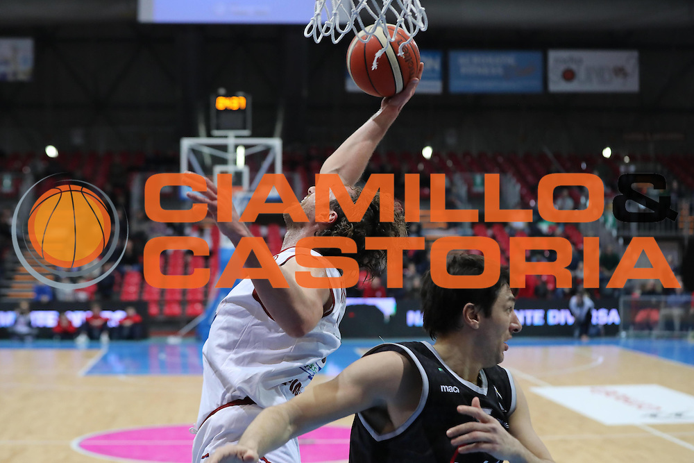 Luca Infante<br /> Assigeco Piacenza - Segafredo Bologna<br /> Campionato Basket LNP 2016/2017<br /> Piacenza 09/01/2017<br /> Foto Ciamillo-Castoria