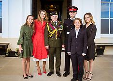 Sandhurst: Prince Hussein Of Jordan Graduation - 11 Aug 2017