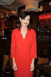 ELIZABETH McGOVERN at 'Heavenly Ivy' a play to commemorate 20 years of The Ivy Restaurant, held at The Ivy, West Street, London on 8th November 2010.