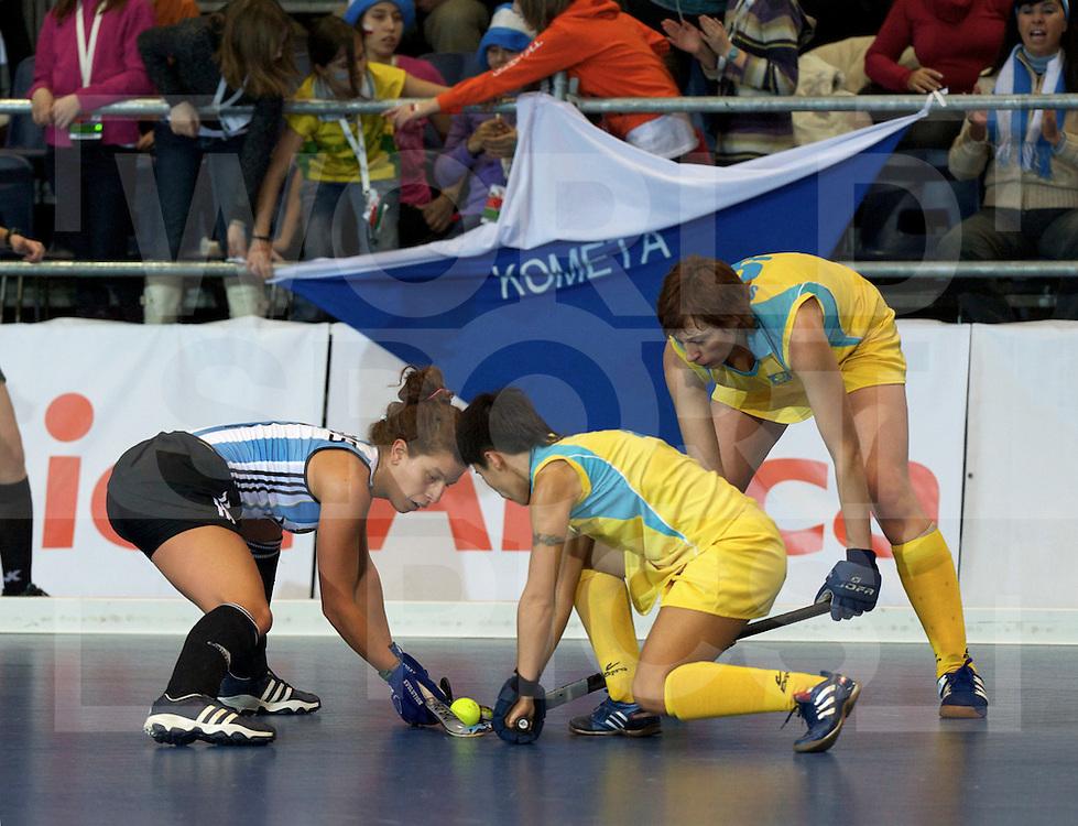POZNAN - INDOOR WORLD CUP.women.Argentina vs Kazakhstan.FFU PRESS AGENCY COPYRIGHT FRANK UIJLENBROEK..