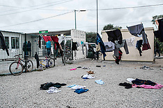France: Migrants Leave The Jungle Refugee Camp In Calais, 22 Oct. 2016