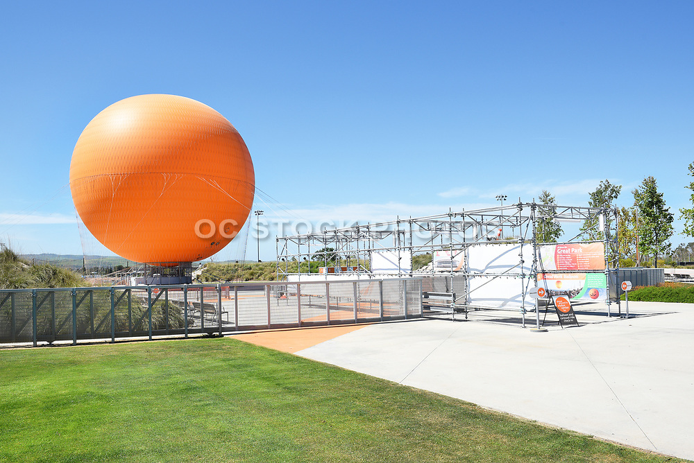 Great Park Balloon Ride Loading Zone
